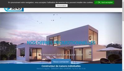 Site internet de Maison 7E Sens