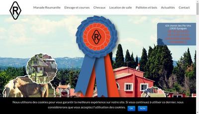 Site internet de Manade Roumanille