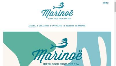 Site internet de Marinoe