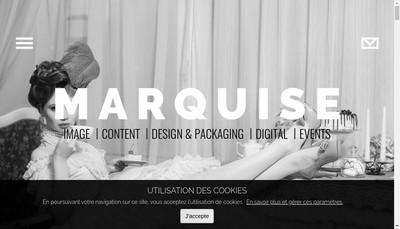 Site internet de Marquise Contents
