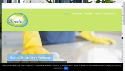 Site internet de Maxinet