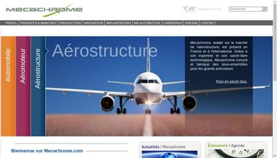 Site internet de Mecachrome France