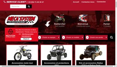 Site internet de Meca System International