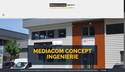 Site internet de Mediacom Concept Ingenierie