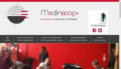 Site internet de Medinscop