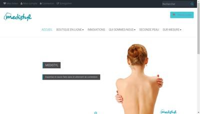 Site internet de Medistyl