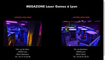 Site internet de Megazone 1