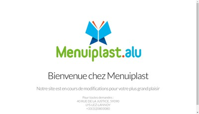 Site internet de Menuiplast