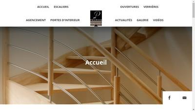 Site internet de Menuiserie Yannick Peuron