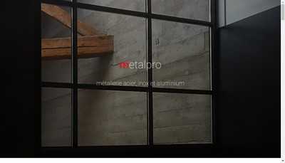 Site internet de Metalpro