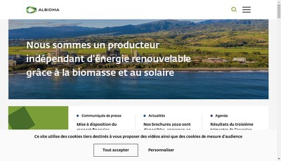 Site internet de Methaneo