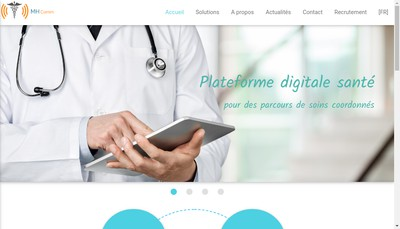 Site internet de Mhcomm
