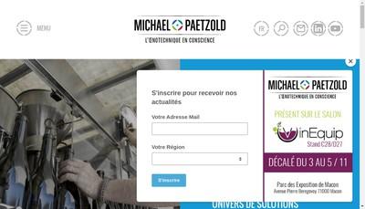 Site internet de Michael Paetzold