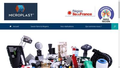 Site internet de Microplast