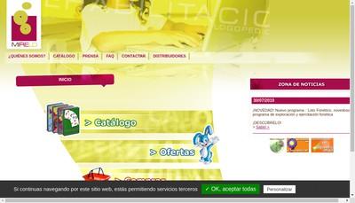 Site internet de Mirelo