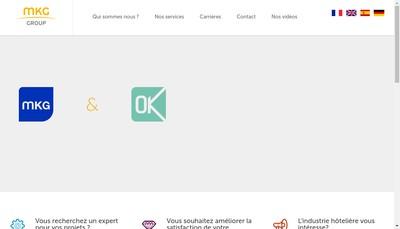 Site internet de Mkg Consulting