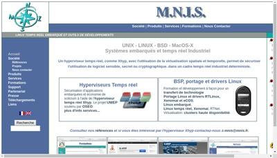 Site internet de Mnis