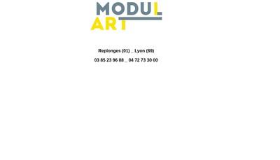 Site internet de Modulart