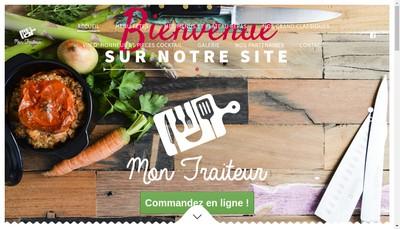 Site internet de Mon Traiteur