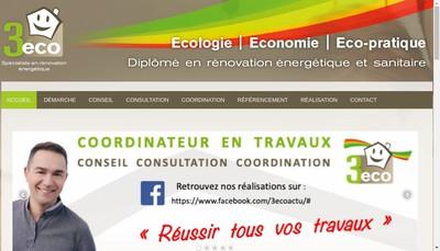 Site internet de 3Eco Moreau & Co