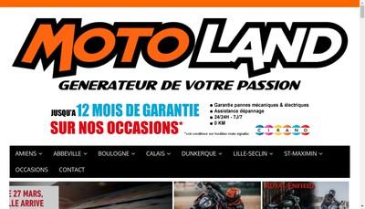Site internet de Fourgeaud Motos