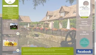 Site internet de Le Moulin du Bechet