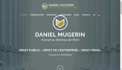 Site internet de Daniel Mugerin