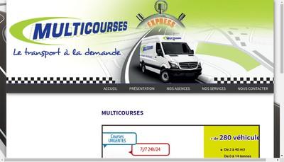 Site internet de Multicourses 22