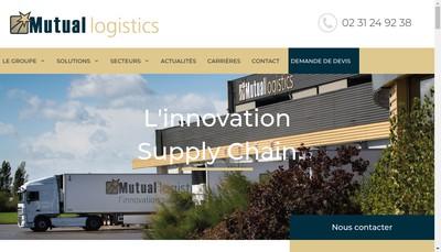 Site internet de Mutual Logistics