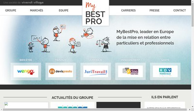 Site internet de Mybestpro