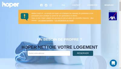 Site internet de Hoper