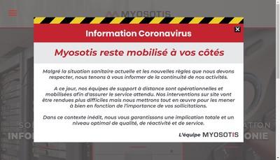 Site internet de Myosotis