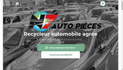 Site internet de N7 Auto Pieces