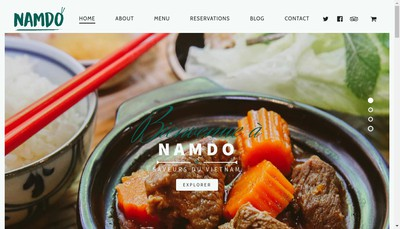 Site internet de Namdo