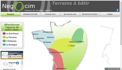 Site internet de Lotissement Terrains a Batir