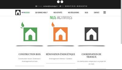 Site internet de Neolodge