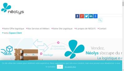 Site internet de Neolys