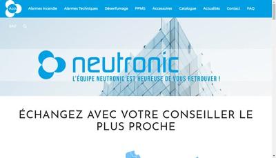 Site internet de Neutronic