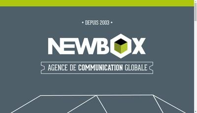 Site internet de New Box Magazine