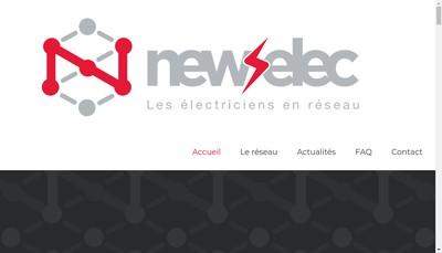 Site internet de Newselec