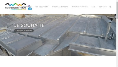 Site internet de Isolavie - Sunelis - Nord Solutions Toiture