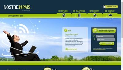 Site internet de Nostre Pais