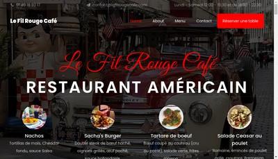 Site internet de Le Fil Rouge Cafe