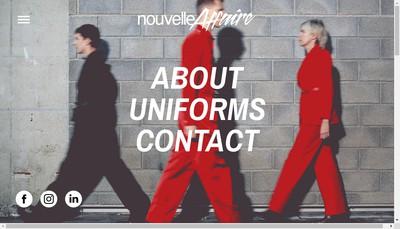 Site internet de Nouvelle Affaire