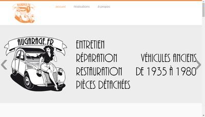 Site internet de Augarage