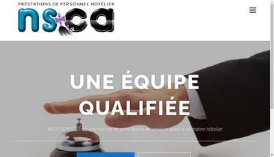 Site internet de Nsca Services