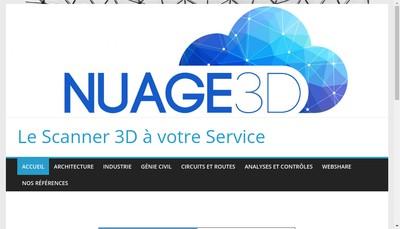 Site internet de Nuage3D