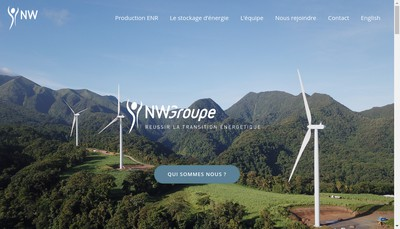 Site internet de NW Groupe
