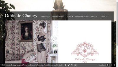 Site internet de Odile de Changy