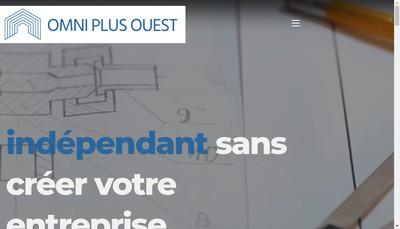 Site internet de Omni Plus Ouest